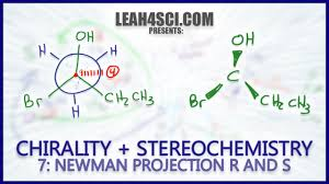 Cyclohexane Chair Conformation Model Kit by Newman Projection Stereochemistry R U0026 S Trick Chirality Orgo