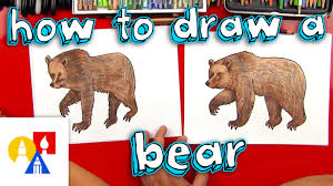 Drawn Grizzly Bear California Republic 503170