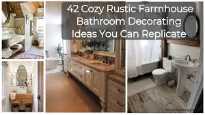 42 Cozy Rustic Farmhouse Bathroom Decorating Ideas You Can Replicate ... Navy Bathroom Decorating Ideas The Best Budgetfriendly 19 Amazing Diy Farmhouse Hunny Im Home Enchanting Luxurious 033 In 2019 Dream Boys Pictures Tips From Hgtv Gorgeous Farmhouse Master Bathroom Decorating Ideas 13 Roundecor 8 Thrifty From A Harlem 07 Beautiful Doitdecor 31 Stunning Small Trendehouse How To Decorate With Plus Help Me My 30 With Images Magment