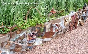 Unique 13 Rustic Garden Ideas