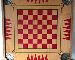Vintage Carrom Game Board Industries For