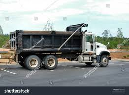 100 Side Dump Truck View Empty Stock Photo Edit Now 1268872
