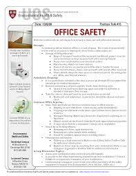 fice Safety Topics ma