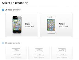 Pre Order iPhone 4S now from Singapore s Apple Store