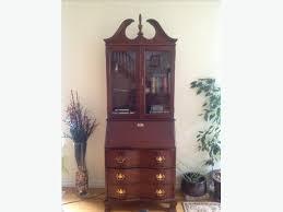 secretary desk cabinet by jasper cabinet company price reduced