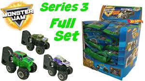100 Hot Wheels Monster Jam Trucks List SERIES 3 NEW Truck Blind Bag