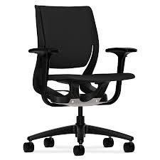 Bungee Office Chair With Arms by Paradox Black Black Modern Office Chair Eurway