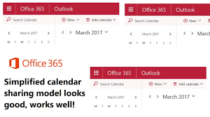 Calendar Sharing Be es Much Easier for fice 365 Users Petri