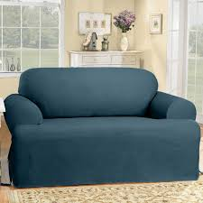 Sure Fit Scroll T Cushion Sofa Slipcover by Sure Fit Cotton Duck T Cushion Slipcover