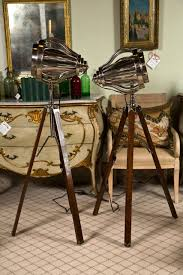 Photographers Tripod Floor Lamp by Pair Of Industrial Style Tripod Floor Lamps For Sale At 1stdibs
