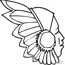 Free Indian Coloring Pages Cellarpaperco