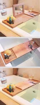 diy bathtub caddy with reading rack best 25 bath caddy ideas on bathtub caddy bath ideas