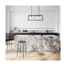 Kitchen Island Ls Light Society Morley 4 Light Kitchen Island Pendant Matte Black Shade With Clear Glass Panels Modern Industrial