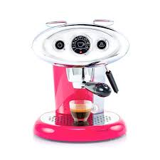 Coffee Machine X71 MIE Pink With 100 Free Capsules