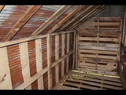 how to build free or cheap shed from pallets diy garage storage pt