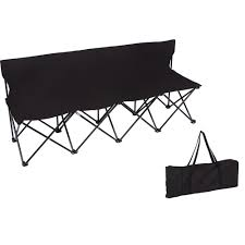 Trademark Innovations Portable 4-Seater Folding Black Team Sports Sideline  Chair Trademark Innovations 135 Ft Black Portable 8seater Folding Team Sports Sideline Bench Attached Cooler Chair With Side Table And Accessory Bag The Best Camping Chairs Travel Leisure 4seater Get 50 Off On Sport Brella Recliner Only At Top 10 Beach In 2019 Reviews Buyers Details About Mmark Directors Padded Steel Frame Red Lweight Versalite Ultralight Compact For Wellington Event