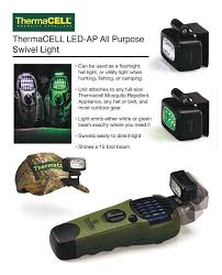 Thermacell Mosquito Repellent Outdoor Led Lantern by Thermacell All Purpose Swivel Light Led Ap The Home Depot
