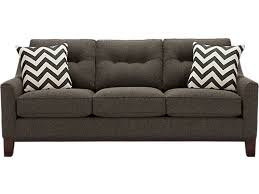 Jennifer Convertibles Leather Sleeper Sofa by Living Room Gray Sleeper Sofa Unique Furniture Cool Grey