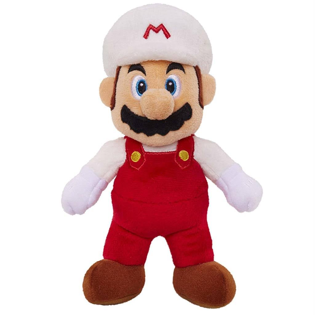 Nintendo Super Mario Bros U Fire Mario Plush