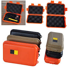 Portable Outdoor Waterproof Shockproof Airtight Survival Tool Storage Case Container Anti pressure Carry Box