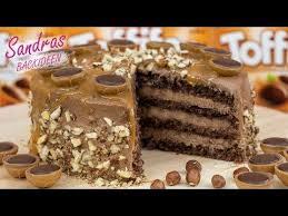 toffifee nougat torte mit schokobiskuit leckeres rezept