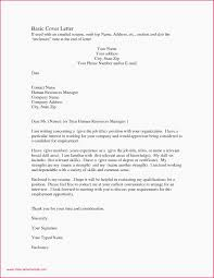 Formal Letter French Example