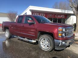 100 Pickup Trucks For Sale In Ct PreOwned 2015 Chevrolet Silverado 1500 LT 4D Double Cab In