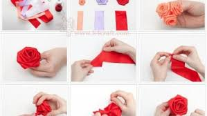 How To Make A Ribbon Rosette Tutorial
