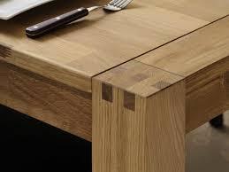 table à manger rectangulaire en chêne finition huilée