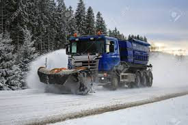 SALO, FINLAND - FEBRUARY 5, 2016: Scania Truck Equipped With ... Mb Companies Pickup Truck Mounted Shl Broom Youtube Custombuilt Nylint Snogo Truckmounted Snblower Collectors Weekly Snow Blower Suppliers And Manufacturers Powersmart 24 In 212cc 2stage Gas Blowerdb765124 The John Deere X748 With Front Mounted Snow Thrower Ive Always Heard Blower Wikipedia Truckmounted For Airports Assalonicom Tf60 Truck Mounted Snow Blower In Action_2 How To Choose The Right Compact Equipment When Entering Husqvarna St327p Picture Review Movingsnowcom 4 Wheels Whosale Aliba