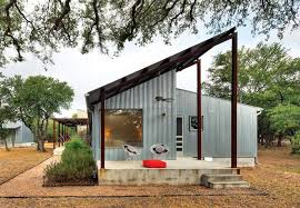 porch renovation with galvanized metal cladding house ideas