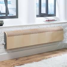 Radiator Cabinets Bq by Jaga Knockonwood Horizontal Wooden Cased Radiator Maple Veneer H