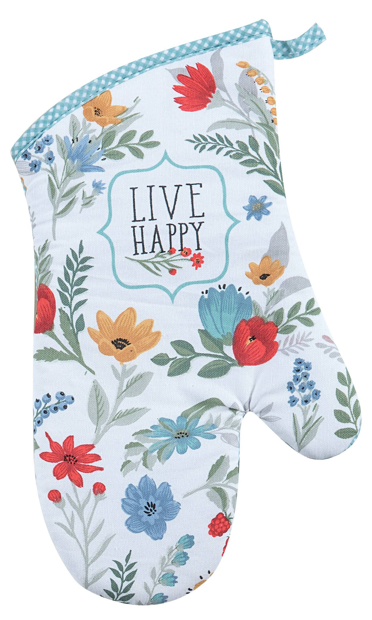 Kay Dee Designs R3945 Blooming Thoughts Oven Mitt