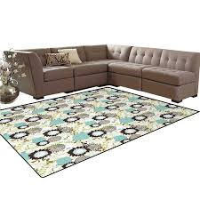Amazon.com: Flower, Floor Mat, Floral White Background With Blue And ... Kitchen Fniture For Sale Ding Prices Brands Inviting Room Ideas 30 Rugs That Showcase Their Power Under The Table Wooden Fold Down Is Good For Your Home Dark Wood Set 18 Best Paint Colors Modern Color Schemes Rooms Vintage Used Chair Sets Sale Chairish Moriville Counter Height Extension Ashley Nebraska Mart Leaf Designer Chair By Ton Luxury Interior Design Online Shop Splendid Light Colored Round Oak Bench Stratton Decor Blowing Leaves Wall 51 Living Stylish Decorating Designs