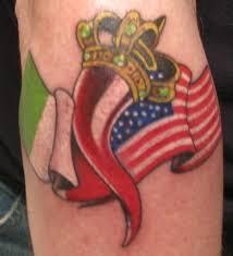 Italian Flag Tattoos For Men