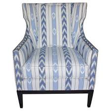blue wingback chair size of wingback chair slipcover deals