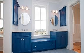Color For Bathroom Cabinets by Blue And White Interiors Living Rooms Kitchens Bedrooms And More