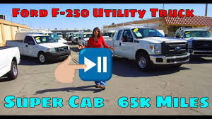 2012 Ford F250 Extended Cab, Utility Service Truck For Sale, 65k ...