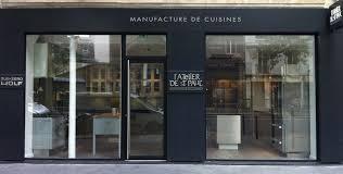 showroom cuisine cuisine atelier de paul