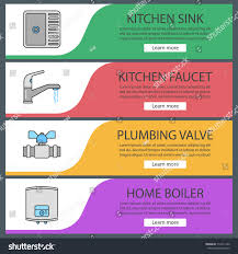 Plumbing Web Banner Templates Set Kitchen Stock Vector 712411240 ... 85 Great Luxurious Kitchen Sink Plumbing Parts With Drain Assembly Glamorous Plans For House Gallery Best Idea Home Design Swimming Pool Piping Design Home Decor Pleasing 70 Double Bathroom Kit Decorating Manual Haynes Publishing Cool How To Install Nice Modern Sims 4 Designs Curbless Shower Build Blog Floating Bookshelves Diy Interior Designers Causes Of Basement Flooding Ulities Kingston Fantastic Diagram 57 Just With Lighting Circuit Wiring Photo Ipirationstd