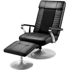 fauteuil de bureau relax langria fauteuil massant chauffant inclinable avec ottomane