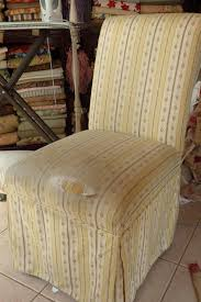 Parsons Chair Slipcovers Shabby Chic by Cottage By Design With Trish Banner Parsons Chair Ruffled Slipcover