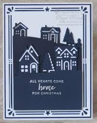 The decorative frame on this card is from the Card Front Builder Thinlits from Stampin
