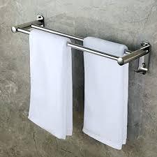 choelf zweiarmig handtuchhalter 50cm mit haken selbstklebend handtuchstange bad ohne bohren wandmontage edelstahl badetuchhalter für badezimmer wc