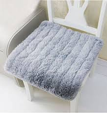 Amazon Uk Patio Chair Cushions by Warm Seat Pad Luxury Soft Plush Fluffy Chair Cushion Office