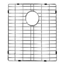 ancona kitchen 304 stainless steel sink grid with polished