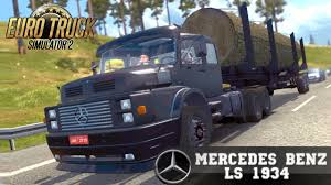 Euro Truck Simulator 2 Mod MERCEDES BENZ LS 1934 Old Truck - YouTube