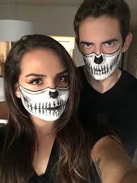 Halloween Half Mask Makeup by Half Skull Halloween Makeup U003e U003emakeup Pinterest Half Skull