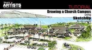 sketchup and traditional tradigital drawing sketchup 3d