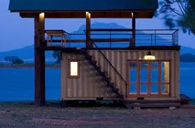 Shipping Container Lakeside Retreat